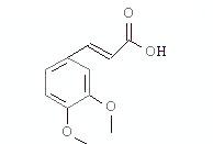 3,4-二甲氧基肉桂酸